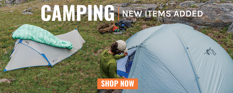 CAMPING | New Items Added