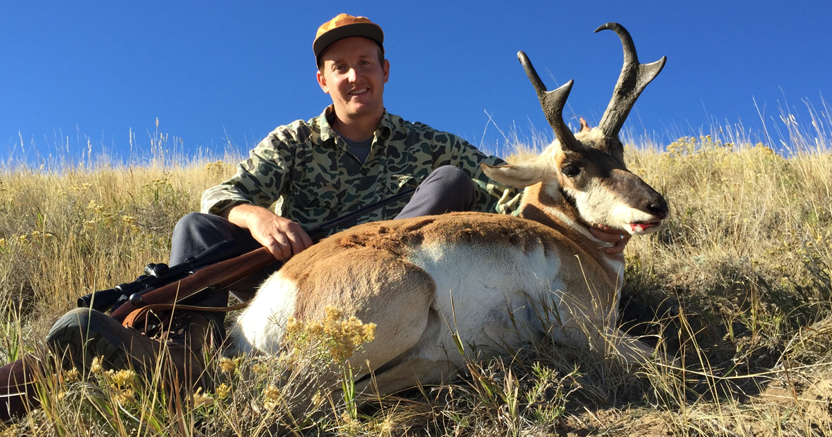 Incredible Father Son Antelope Hunt In The Plains Of Wyoming