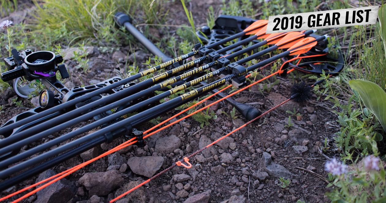Dave Barnett's 2019 Utah archery mule deer hunting gear list