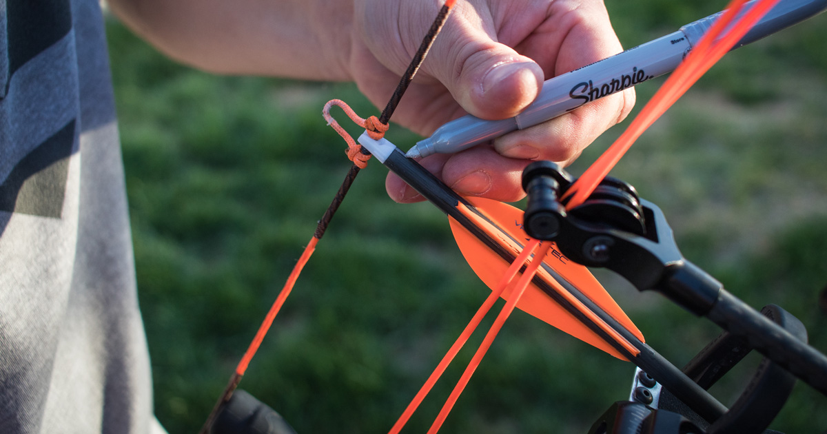 Nock Tuning Your Hunting Arrows Gohunt There's even a 3d arrow ➫! nock tuning your hunting arrows gohunt