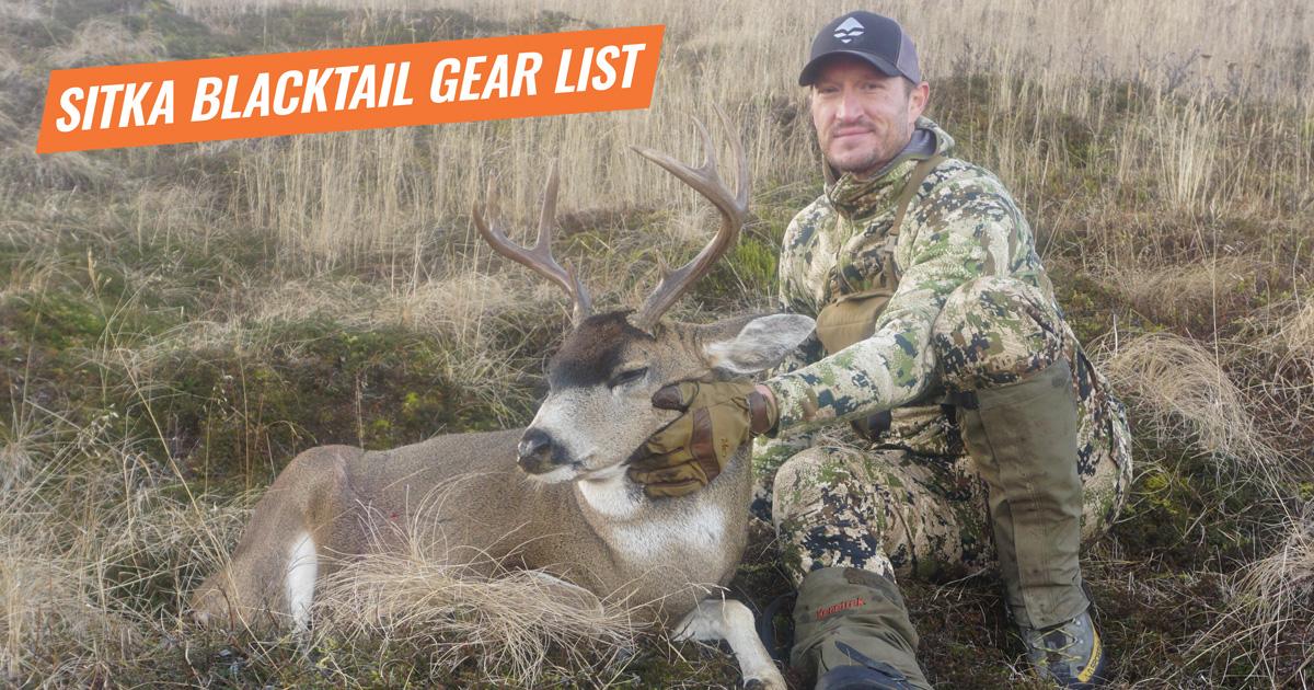 0971aa74b4a1c Trail Kreitzer's Sitka blacktail deer gear list | goHUNT