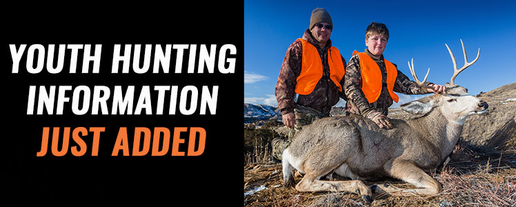 Youth Hunts Now Added
