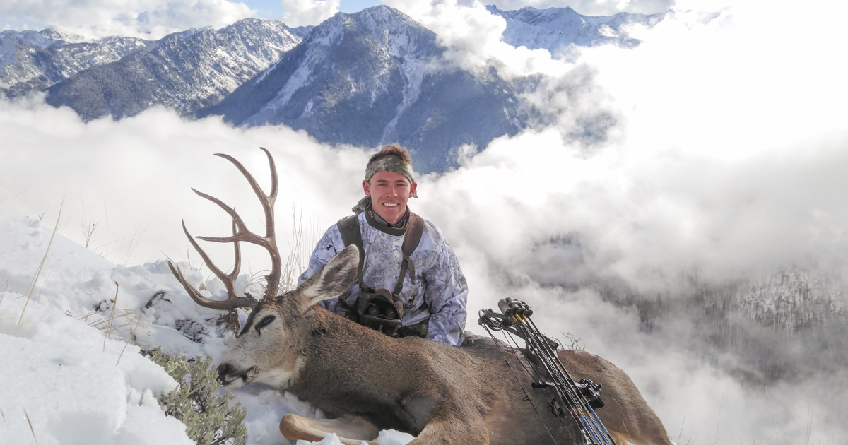 Late season bow hunt   Big Game Hunt