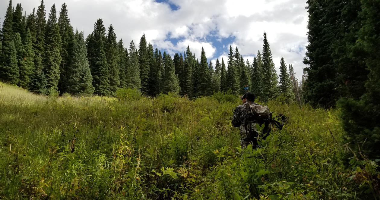 Emergency plan for western hunting