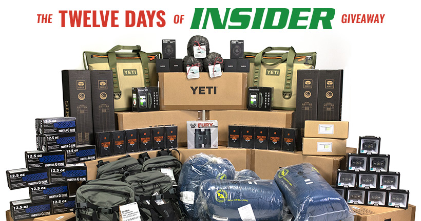 12 Days of INSIDER giveaways
