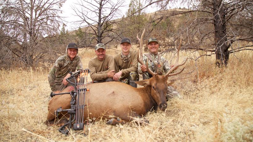 2015 Oregon archery bull elk