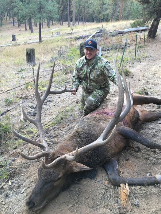 2016 Andrew Douglas Washington state first elk and big game animal