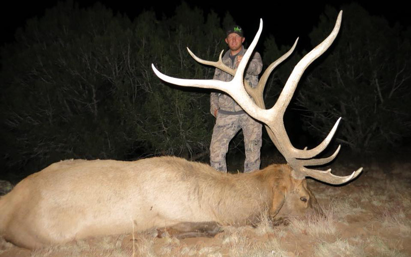 2017 Arizona bull elk guided by High Point Outfitters