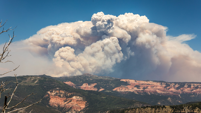2017 Brian Head Utah wildfire
