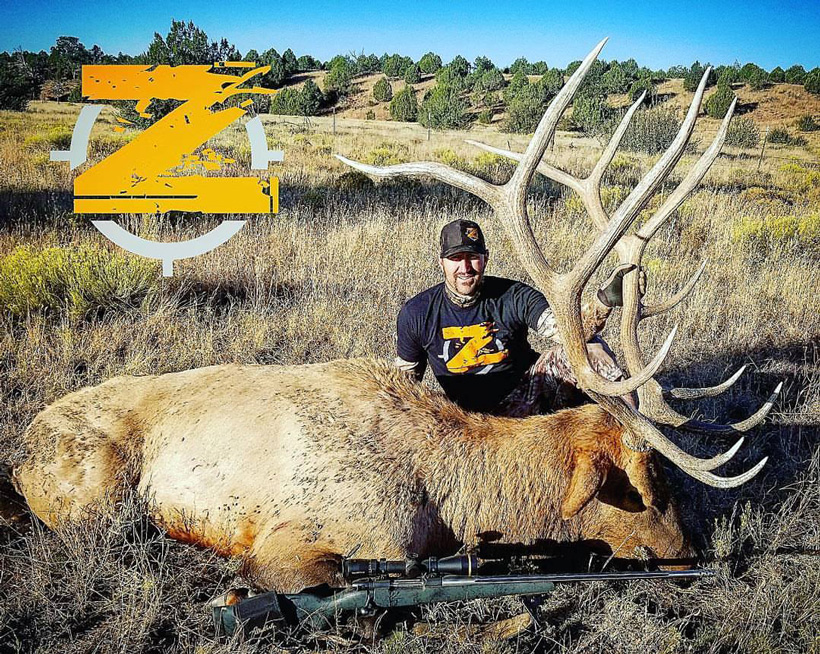 2017 bull elk taken with Arizona Strip Guides