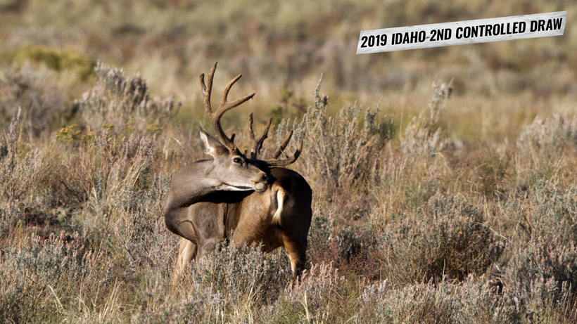 2019 Idaho second controlled hunt drawing