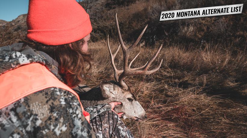 2020 Montana alternate list