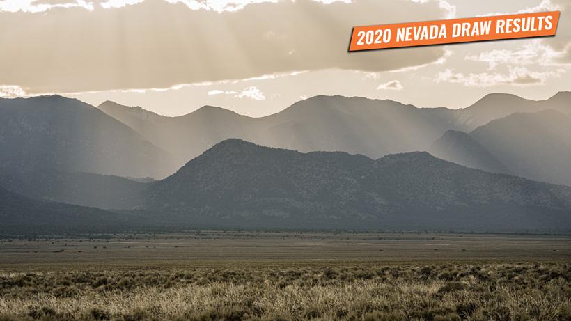 2020 Nevada draw results start at midnight tonight