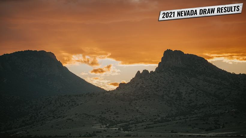 2021 Nevada big game draw results May 21