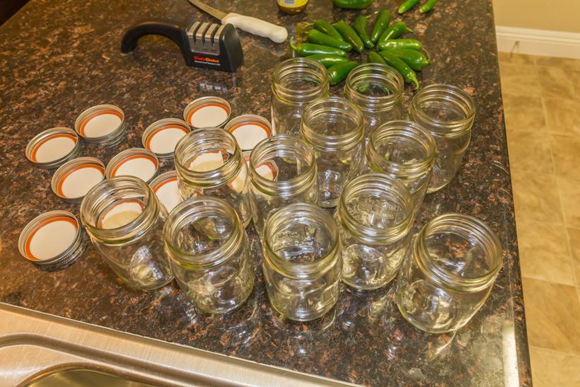 Pint jars for bottled venison