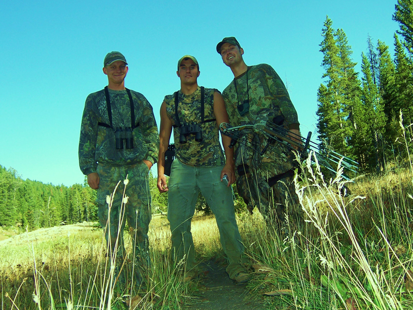 Bowhunting friends