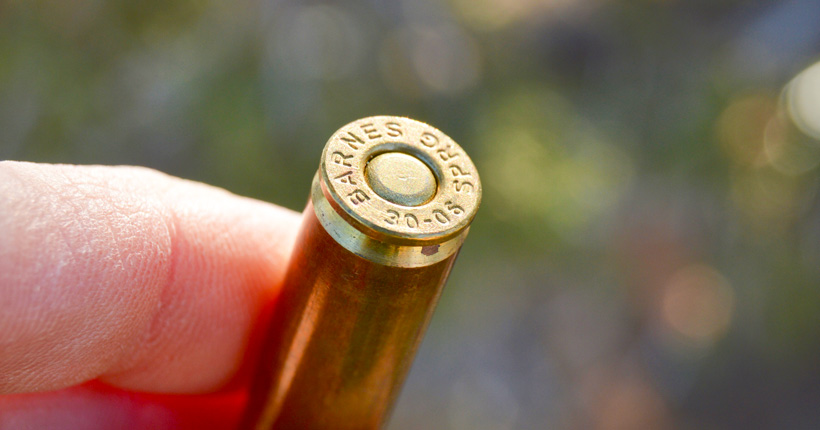 .30-06 rifle cartridge for hunting