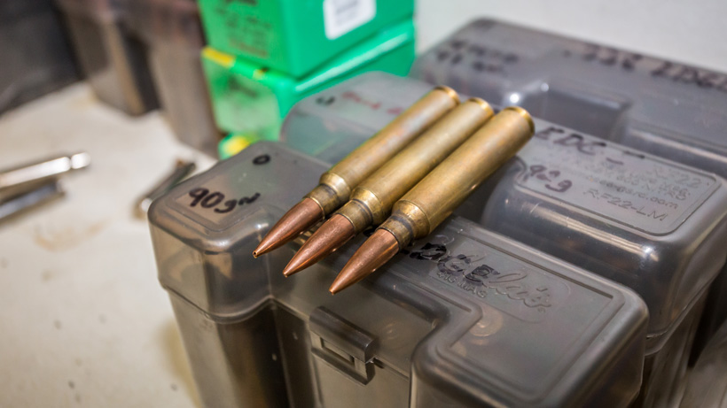 338 Edge rifle cartridge for hunting