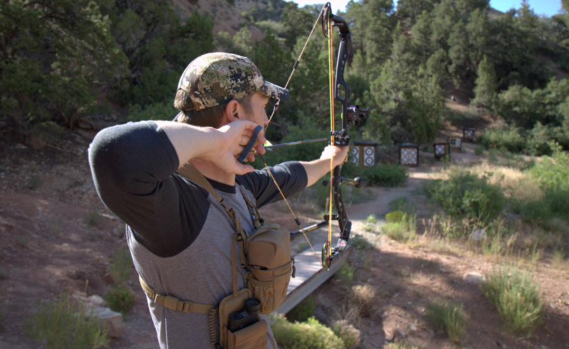 3D archery practice for hunting