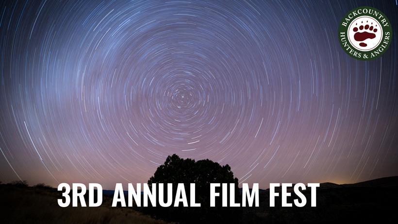 3rd annual BHA public land film fest