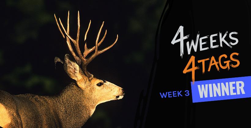 4W4T Landowner Tag Week Three Winner