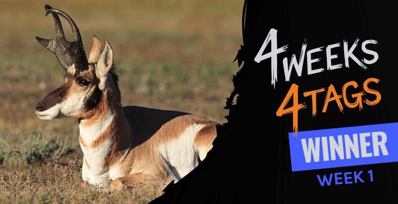 4W4T Landowner Tag Week One Winner