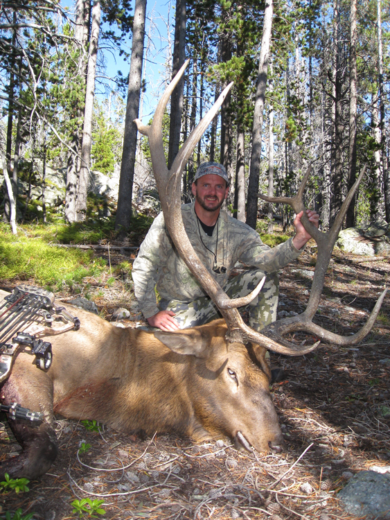 Lee and his bull elk
