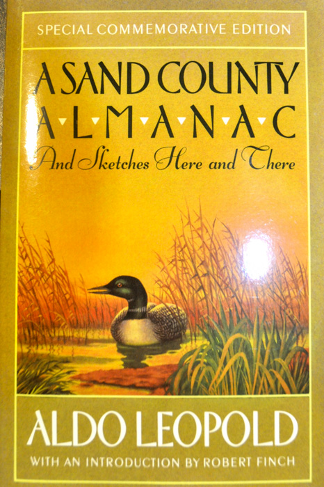 A Sand County Almanac book
