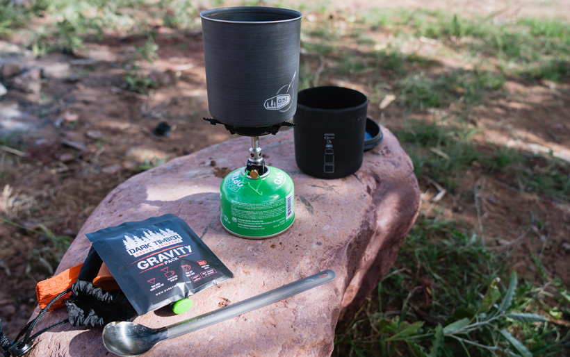 A build your own backcountry cook kit