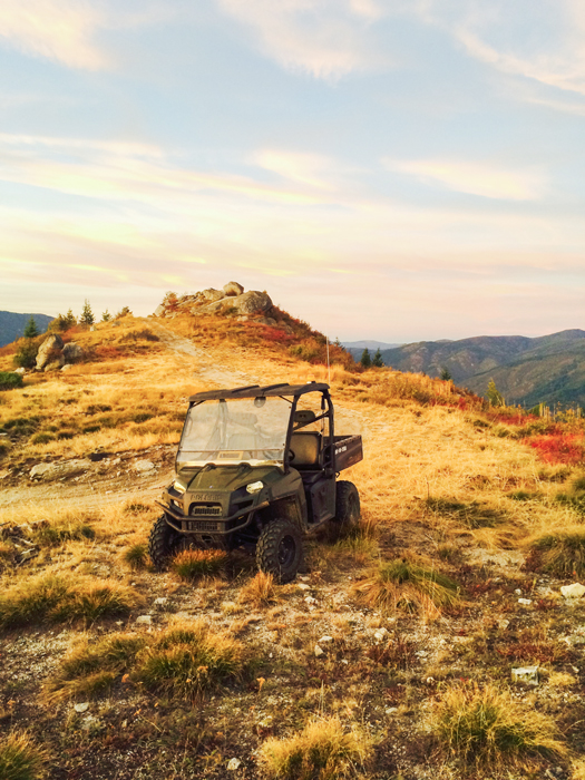 ATV for moose hunting