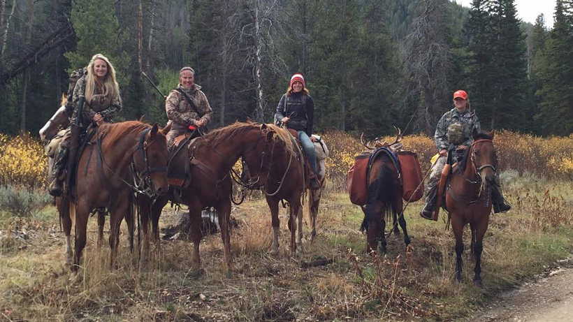 All smiles after a successful Wyoming mule deer hunt