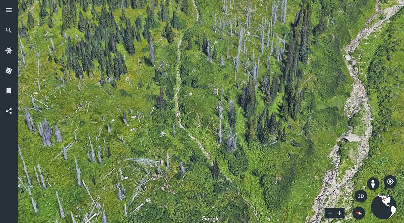 Amazing satellite image quality on Google Earth web