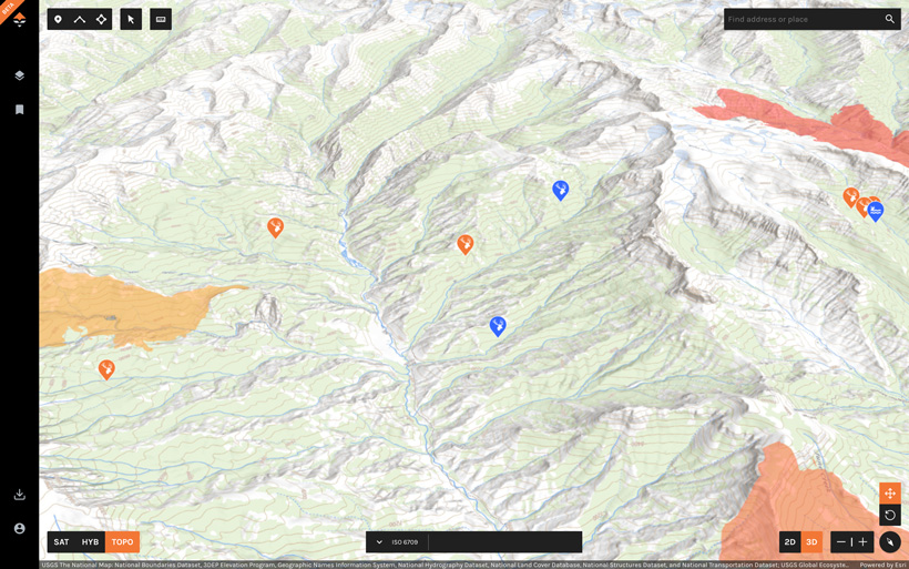 Analyzing elk habitat on goHUNT Maps