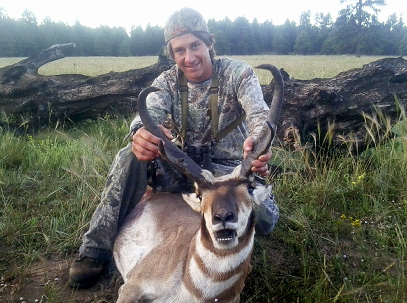 Antelope hunting success