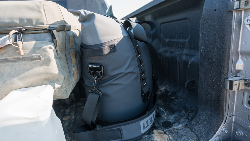 Antelope hunting with YETI soft cooler