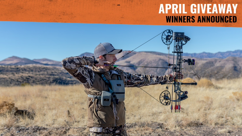 April Mathews bow giveaway winners