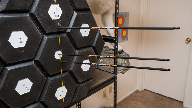 Archery indoors for muscle memory