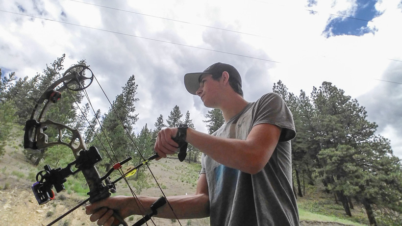 Getting ready for the archery season