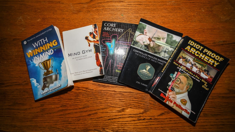 Archery related books for curing target panic