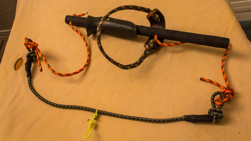Archery shot execution string trainer