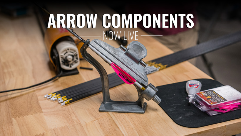 Arrows and arrow components now live on goHUNT Gear Shop