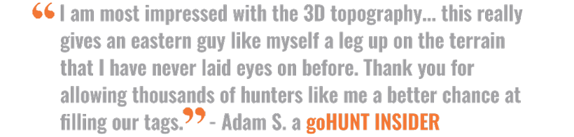 Article quote on goHUNT Maps and 3D importance