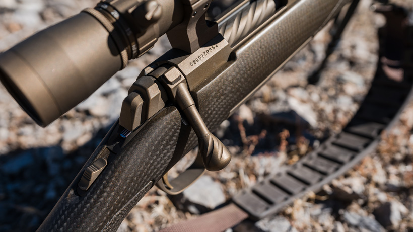 Attention to detail on Browning X bolt pro long range rifle