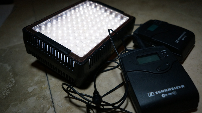 Audio quality and lighting accessories