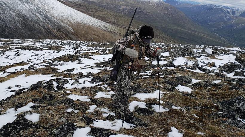 Cari Goss hunting in the Yukon