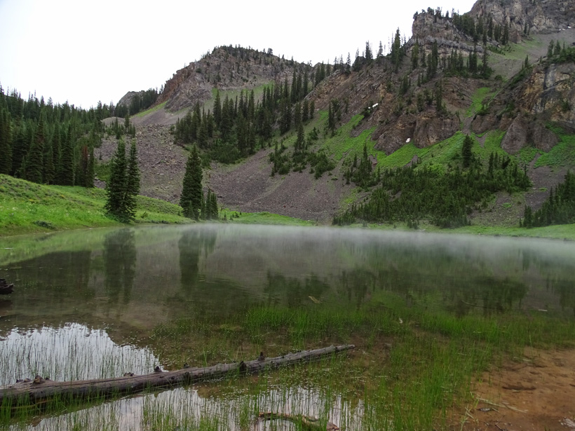 Backcountry scenery of Wyoming
