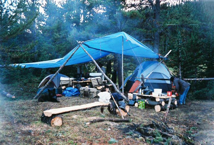 Backcountry camp