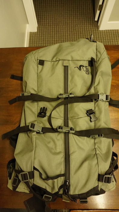 Backcountry elk hunting backpack
