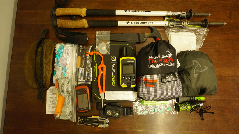 Backcountry elk hunting gear