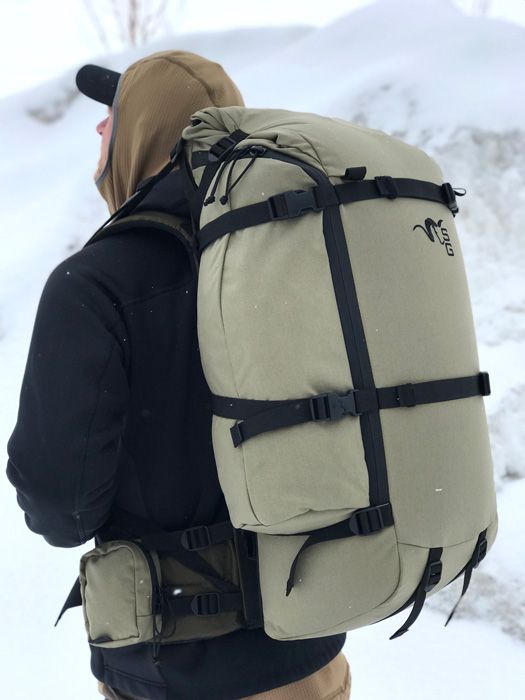 Backpacking with a Stone Glacier EVO 40/56